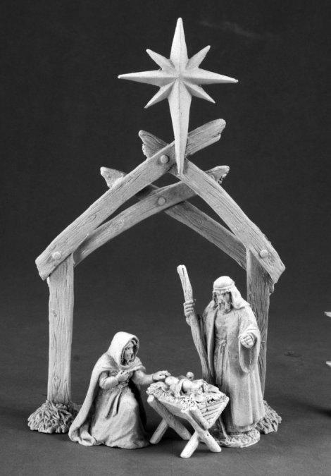 The Nativity: Manger