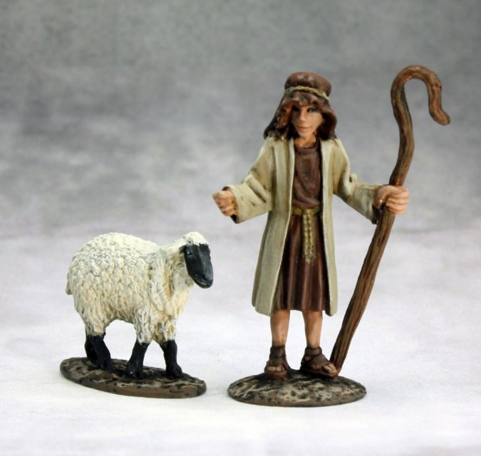 The Nativity: Shepherd