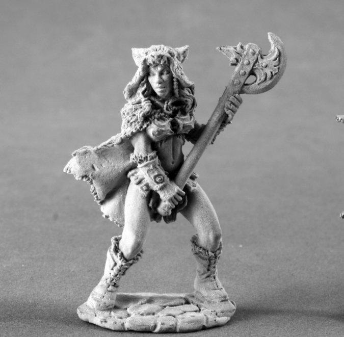 Kyrie, Female Barbarian