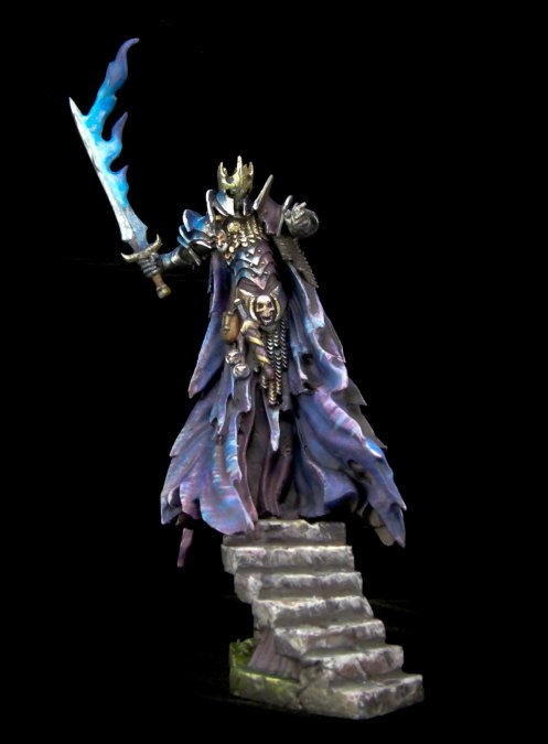 Murkillor the Wraith King (resin)