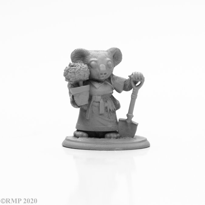 Hope the Koala Druid, 2020 Australian Brushfire Relief Miniature