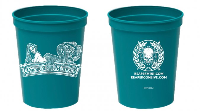 ReaperCon Drunken Mermaid Rinse Cup