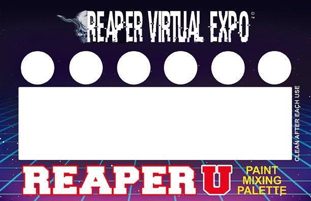 RVE Reaper U Mixing Palette