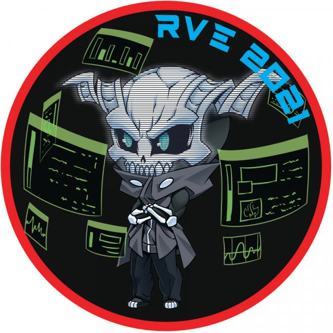 RVE 2021 Grimm Velcro Patch