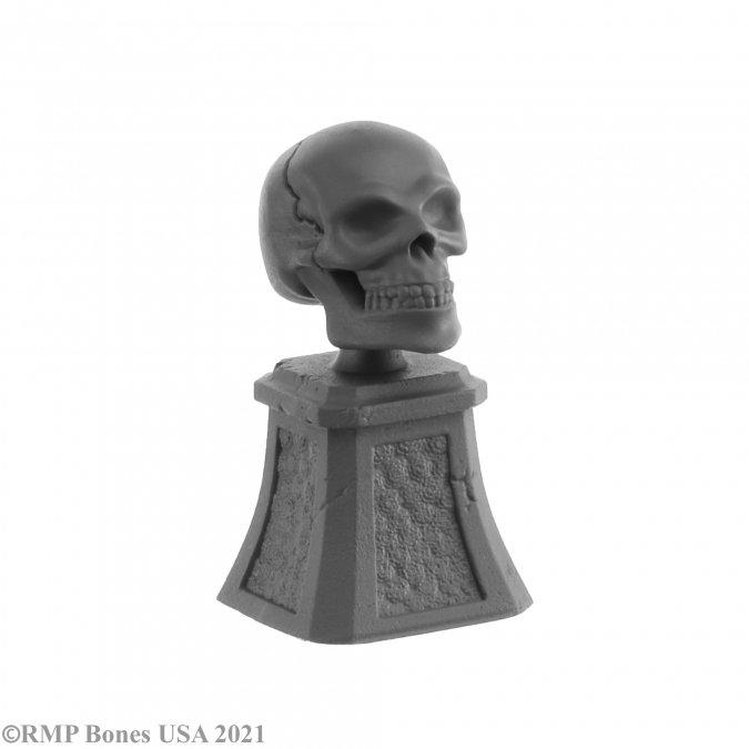 Sugar Skull and Plinth