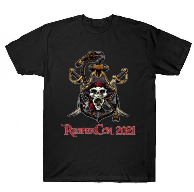 ReaperCon 2021 Color T-Shirt 2XL