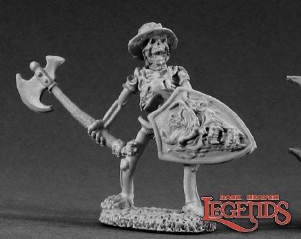 Skeleton With Axe