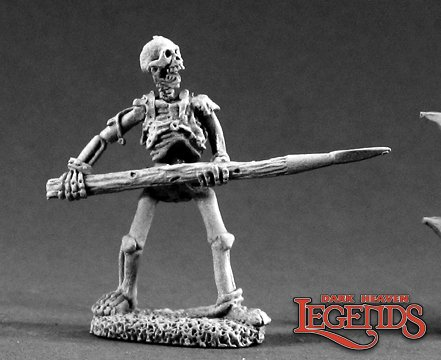 Skeleton Pikeman