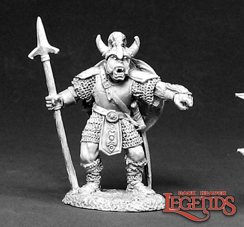 Skarr, Orc Warlord