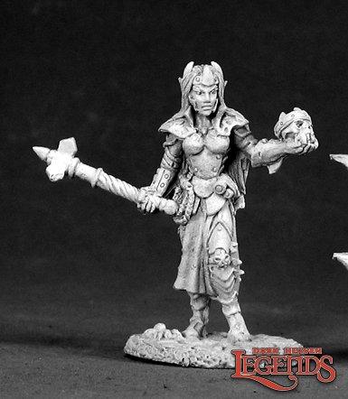 Female Dark Elf Cleric