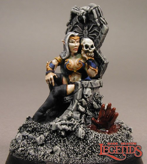 Dark Elf Queen/Throne