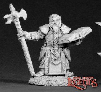 Dwarf Cleric, Grayrune