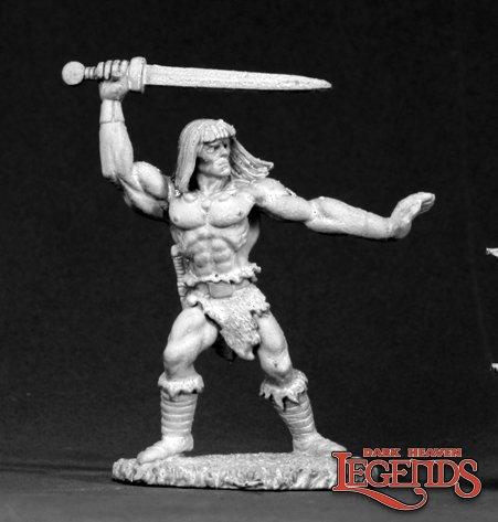 Traeg, Barbarian