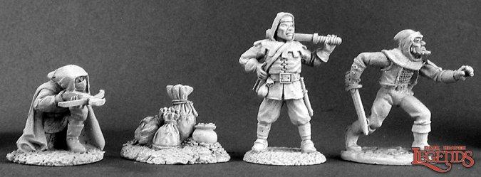 Townsfolk IV: Bandits (4)