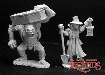 Townsfolk VI: Gravedigger & Henchman (2)