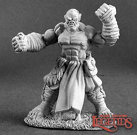 Gungor, Half-Orc Monk