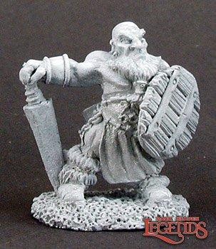 Gullivar, Gnome Barbarian