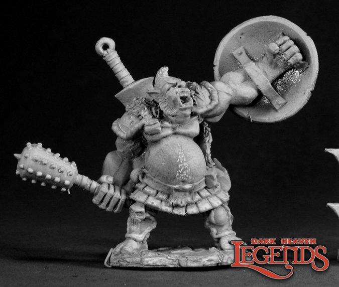 Gorevane, Half Ogre Fighter