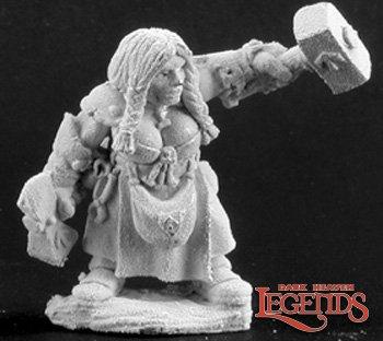 Magda Mintsilver, Female Dwarf