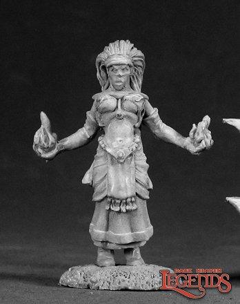 Ava, Female Wizard