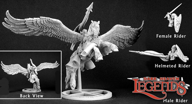 Barros & Tempest, Paladin on Pegasus