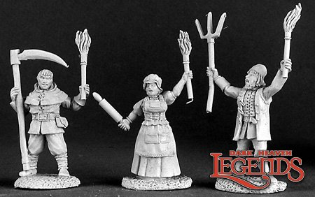 Townsfolk VIII:Village Mob (3)