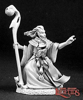 Garwin Greywand, Wizard