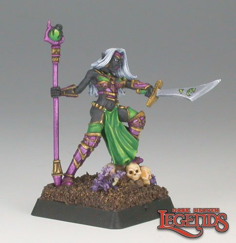 Carinth, Dark Elf Sorceress