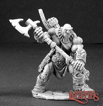 Thelgar Halfblood, Half Orc Barbarian