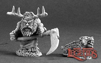 Dwarf Druid and Badger