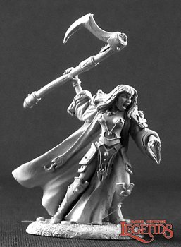 Elori Ebonscythe, Female Cleric