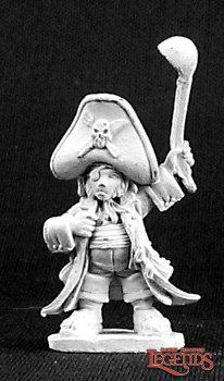 Bergo Ironbelly, Halfling Pirate