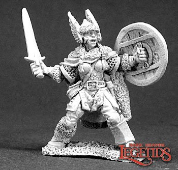 Bryndi, Female Warrior