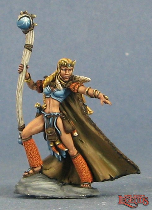 Ilana, Female Shaman