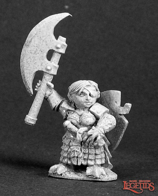Ursula Silverbraid, Female Dwarf Warrior