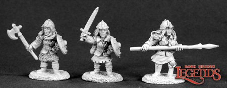DHL Classics: Female Dwarves