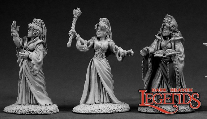 DHL Classics: Female Wizards