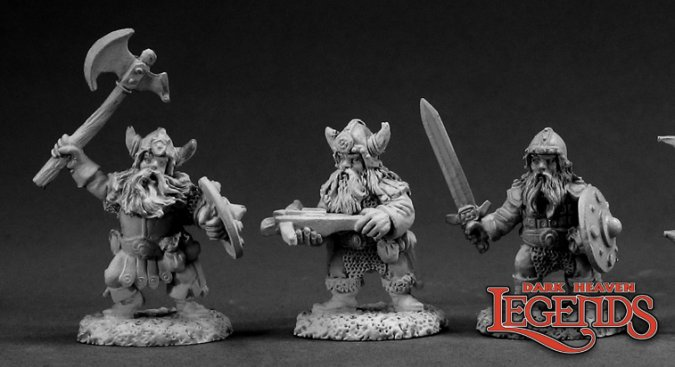 DHL Classics: Dwarf Warriors