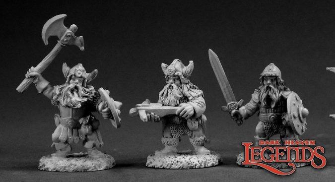 DHL Classics: Dwarf Warriors