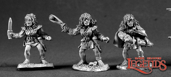 DHL Classics: Female Halflings