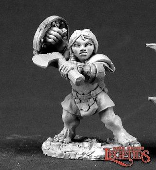 Dannin Deepaxe, Female Dwarf