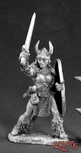 Ingrid, Female Viking Warrior