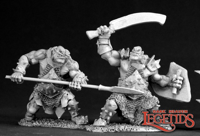 Orc Spearman and Swordsman