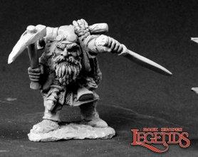 Gris Knotslip, Dwarf Trapfinder