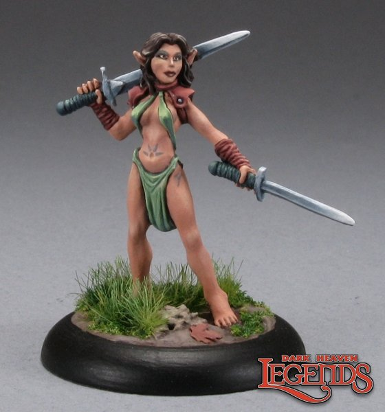 Anjanis, Elf Druid