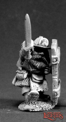 Cobb Blackbadger, Dwarf Miner