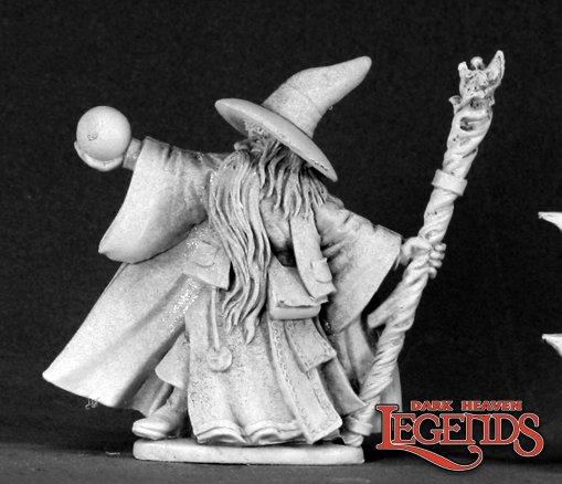 Galladon Greycloak, Wizard