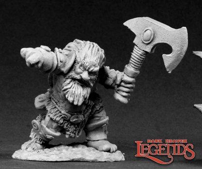 Hulgrif, Dwarf Barbarian