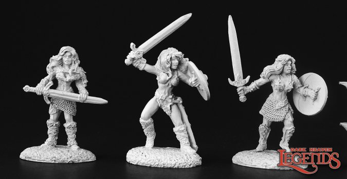 Reaper Miniatures :: female barbarian