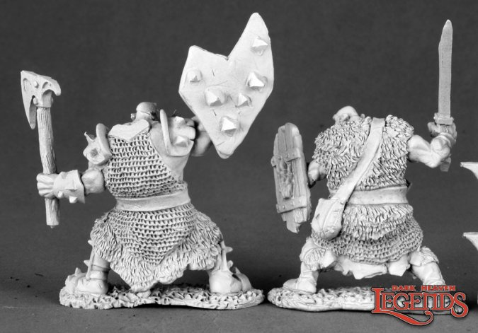 Black Orc Warriors (2)